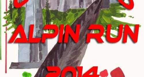 volantino corsa calvario alpini run 2014