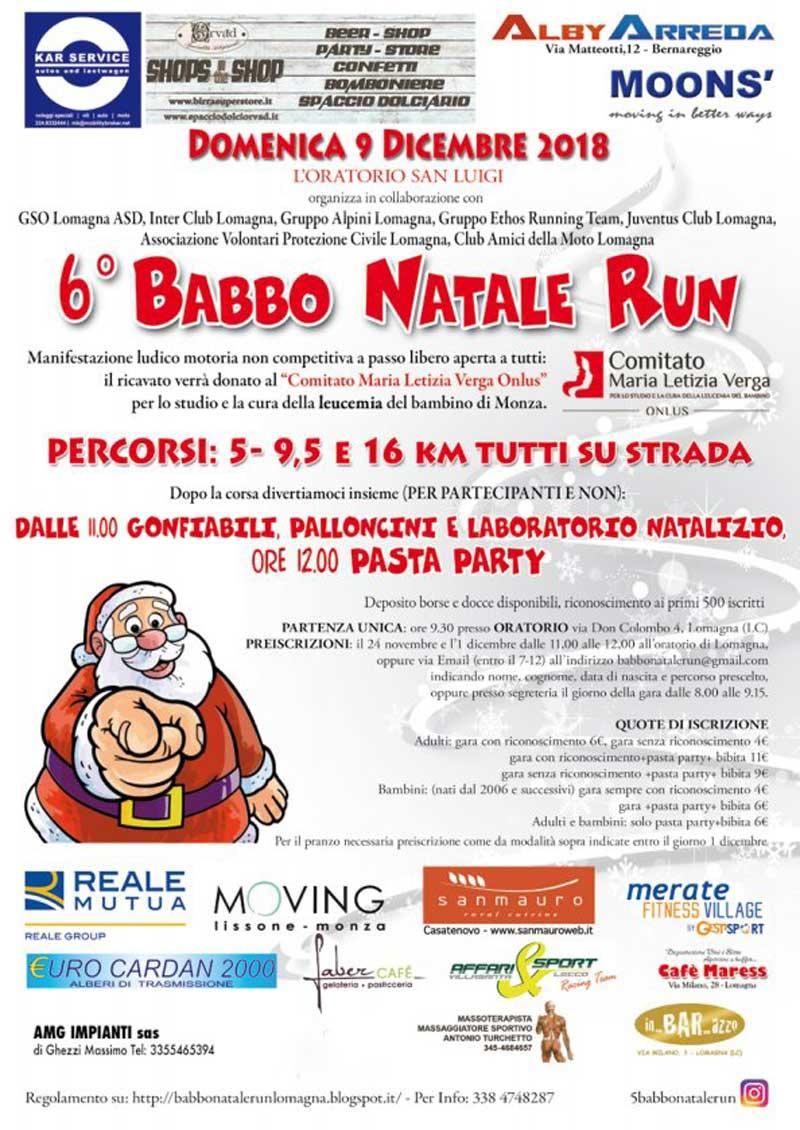 Percorso Babbo Natale.6 Babbo Natale Run Podopodo It