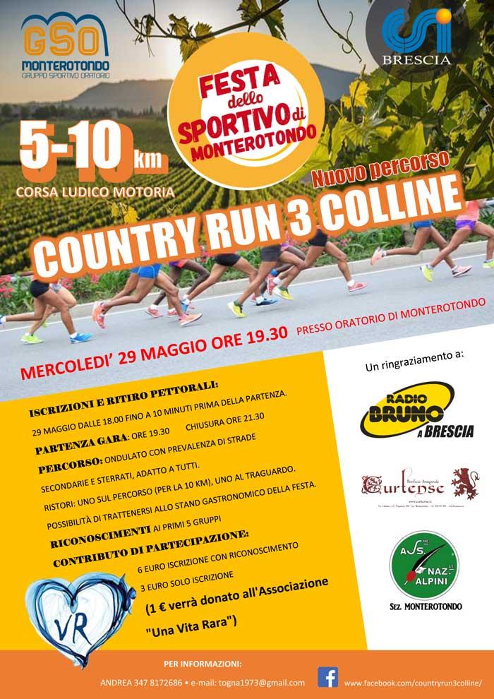 Calendario Corse Podistiche.Country Run 3 Colline Podopodo It