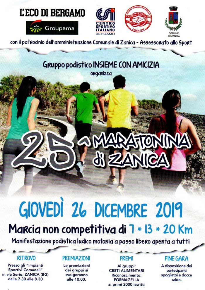 Maratonina di Zanica – 25^ Edizione | podopodo.it