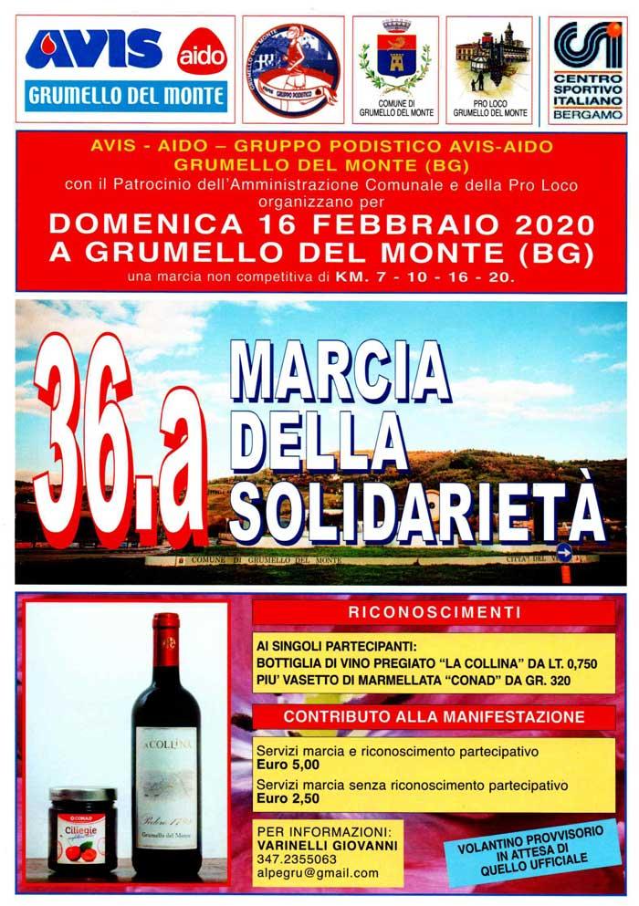 36^ Marcia della Solidarietà | podopodo.it
